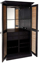 Load image into Gallery viewer, Howard Miller Wine Cabinet/Bar, Agend Black