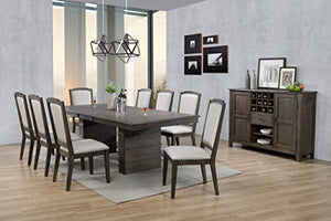 Cali Dining Set, Brown by Sunset Trading