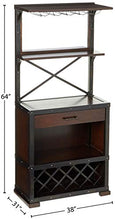 Load image into Gallery viewer, Red Mountain Wine and Bar Storage Cabinet by Howard Miller