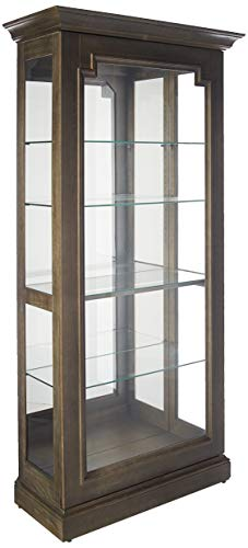 Caden II Solid Wood Display Cabinet by Howard Miller