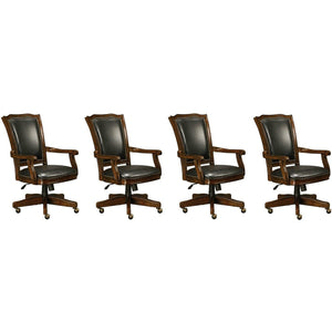 Set of Four (4) or Six (6) Roxbury Club Chairs by Howard Miller
