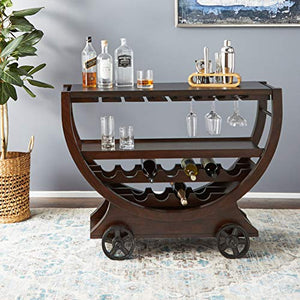 Howard Miller Wine Cabinet/Bar, Rustic