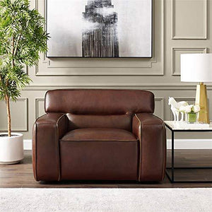 3-Pc Living Room Set in Brown by Sunset Trading