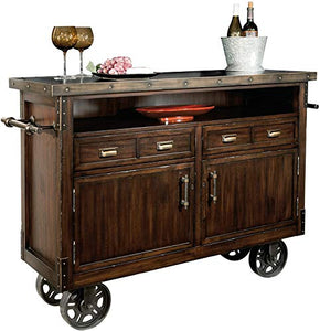 Barrow Wine and Bar Storage Console 695-146 by Howard Miller