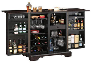 Brunello Wine and Bar Storage Cabinet by Howard Miller