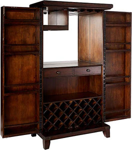 Rogue Valley Wine& Bar Cabinet by Howard Miller