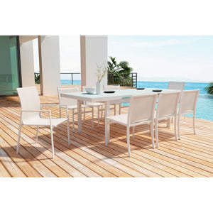 Mayakoba Dining Chair White