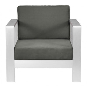 Cosmopolitan Arm Chair Cushion Dark Gray