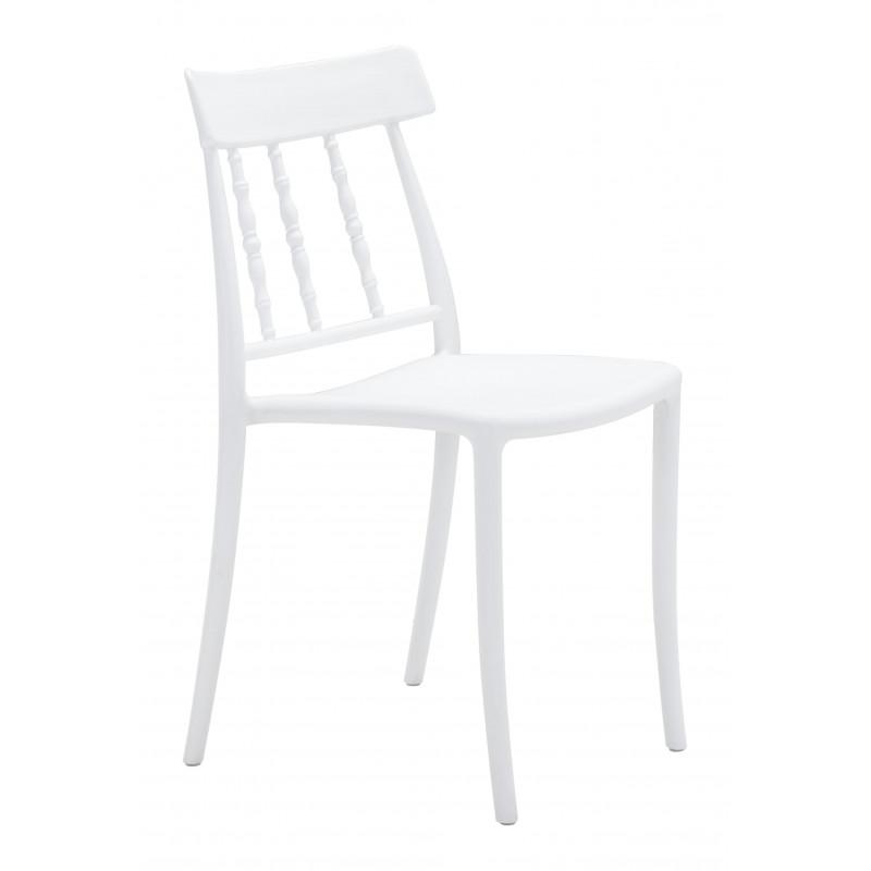 Rift Dining Chair White