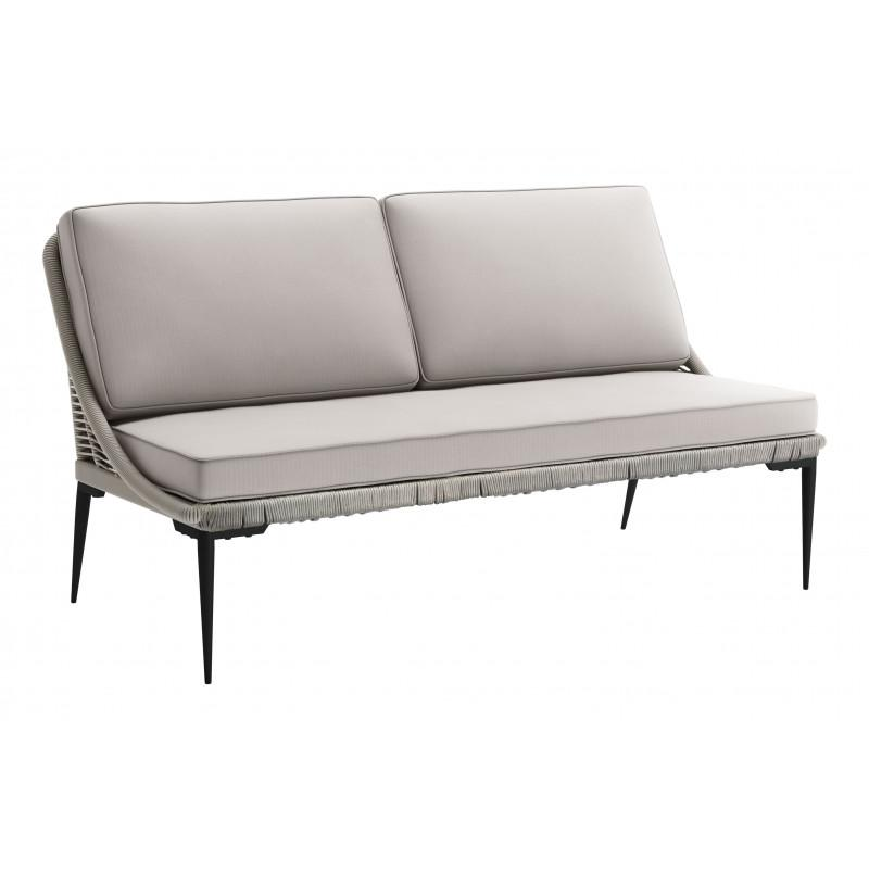 Tahiti Sofa Black & Gray