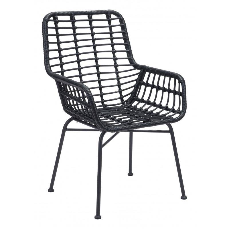 Lyon Dining Chair Black