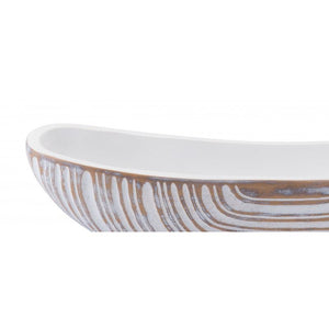 Poly Bowl Antique White