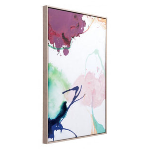 Abstract Party Canvas Multicolor