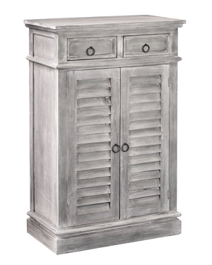 Sunset Trading Cottage Two Door Shutter Cabinet