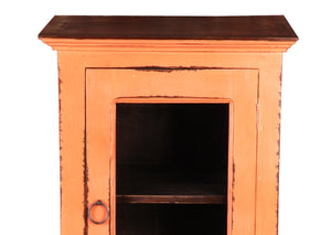Sunset Trading Cottage Glass Door Storage Cabinet