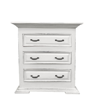 Sunset Trading Cottage Three Drawer Nightstand