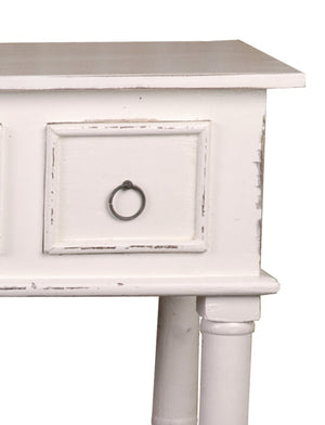 Sunset Trading Cottage Six Drawer Console Table