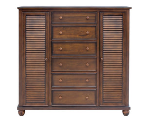 Sunset Trading Bahama Shutter Wood 5 Piece Queen Bedroom Set by Sunset Trading - HomeKingz.com - Online furniture shop with the best prices & premium customer support!