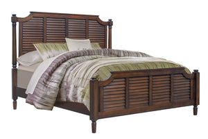 Sunset Trading Bahama Shutter Wood Queen Bed