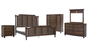 Sunset Trading Bahama Shutter Wood 5 Piece King Bedroom Set by Sunset Trading - HomeKingz.com - Online furniture shop with the best prices & premium customer support!