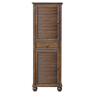 Sunset Trading Bahama Shutter Wood Tall Cabinet