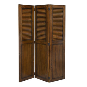 Sunset Trading Shutter Wood Room Divider