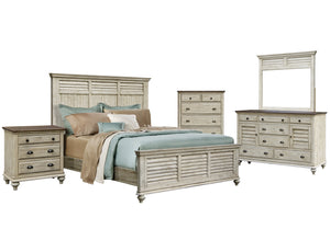 Sunset Trading Shades of Sand 5 Piece Queen Bedroom Set by Sunset Trading - HomeKingz.com - Online furniture shop with the best prices & premium customer support!