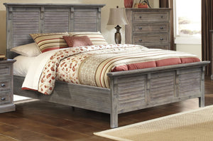 Sunset Trading Solstice Grey Queen Bed