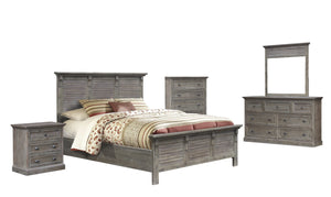 Sunset Trading Solstice Grey 5 Piece King Bedroom Set by Sunset Trading - HomeKingz.com - Online furniture shop with the best prices & premium customer support!