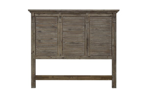 Sunset Trading Solstice Grey King Bed