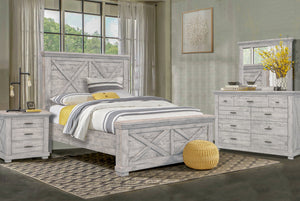 Sunset Trading Crossing Barn Queen 5 Piece Bedroom Set by Sunset Trading - HomeKingz.com - Online furniture shop with the best prices & premium customer support!