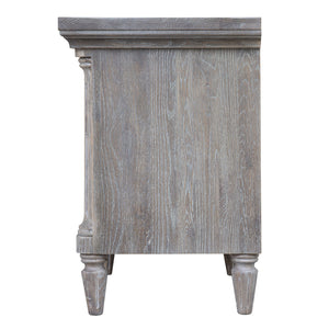 Sunset Trading Fawn Gray 2 Drawer Nightstand