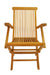 Classic Folding Armchair (sell & price per 2 chairs only)