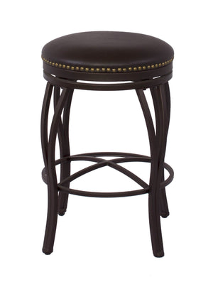 "Sunset Trading 24"" Victoria Swivel Counter Stool"