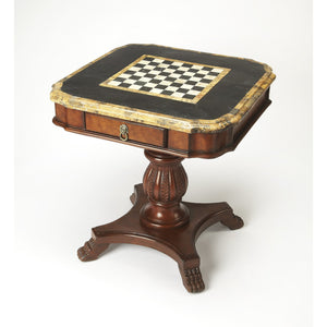Convertible Chess Table Fossil Stone by Butler