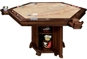 Howard Miller Niagara Poker Game and Dining Table, Convertible by Howard Miller - HomeKingz.com - Online furniture shop with the best prices & premium customer support!