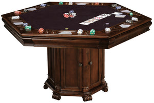 Howard Miller Poker and Dining Table set Niagara with 6 Bonavista Chairs by Howard Miller - HomeKingz.com - Online furniture shop with the best prices & premium customer support!