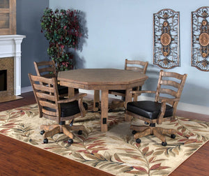 Convertible Poker & Dining Table Puebla by Sunny Designs