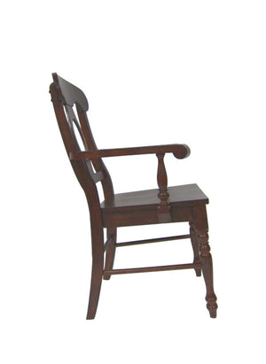 Sunset Trading Andrews Napoleon Arm Chair