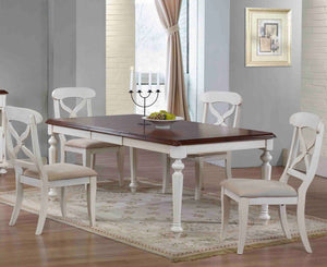 Sunset Trading 5 Piece Andrews Butterfly Leaf Dining Set