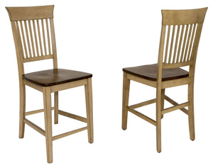 Sunset Trading Brook Fancy Slat Barstool