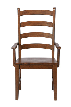 Sunset Trading Simply Brook Ladder Back Dining Arm Chair