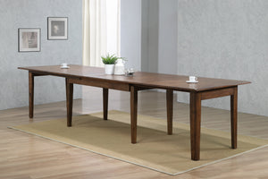 "Sunset Trading Simply Brook 134"" Rectangular Extendable Dining Table"