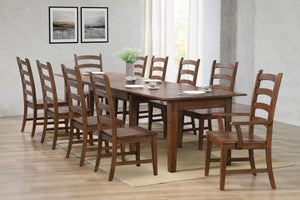 Sunset Trading 11 Piece Simply Brook Rectangular Extendable Table Dining Set by Sunset Trading - HomeKingz.com - Online furniture shop with the best prices & premium customer support!