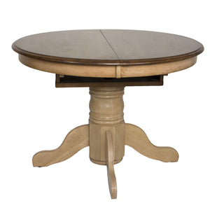 Sunset Trading Brook Round or Oval Extendable Dining Table