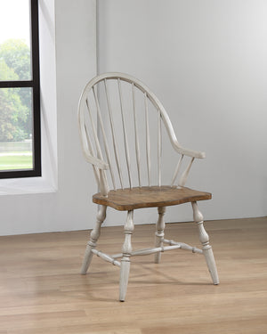 Sunset Trading Country Grove Windsor Dining Chair with Arms