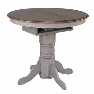 Sunset Trading Country Grove Round or Oval Extendable Pub Table