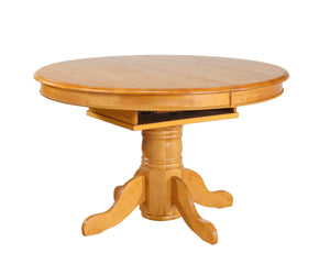 Sunset Trading Butterfly Top Pedestal Dining Table