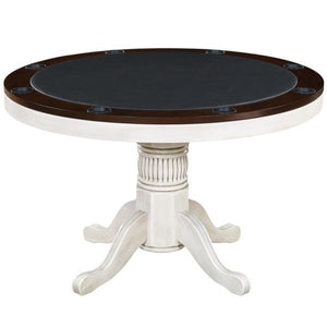 Convertible Round Poker & Dining Table with Convenient Storage, by RAM Game Room