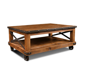 Sunset Trading Rustic City Coffee Table
